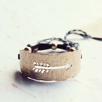 Follow & Arrow Bracelet