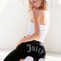 Juicy Couture For UO Gothic Crystal High-Rise Velour Track Pant | Urban Outfitters