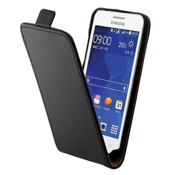 Luxury Cell Mobile Leather Flip Case cover For Samsung Galaxy Core II Cover for Samsung Galaxy Core 2 Dual SIM G355H Phone Cases
