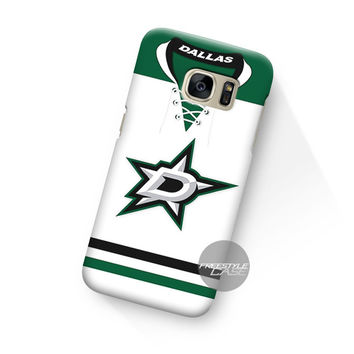 Art Work Dallas Stars White Jersey Samsung Galaxy Case Cover Series
