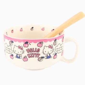 Hello Kitty 14oz Soup Mug: Apple