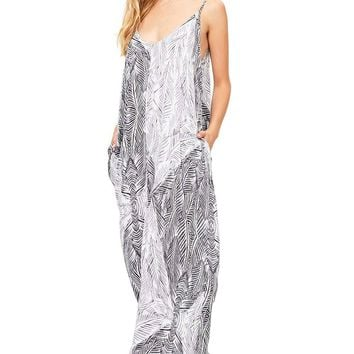 Feather Haze Maxi Dress