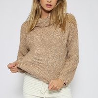 Felicia Knit - Brown Speckle