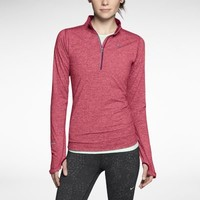 Nike Element Half-Zip Women's Running Top - Geranium