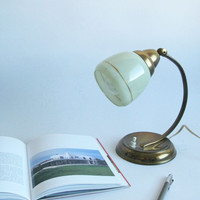 Mid century Art deco desk lamp bedside lamp