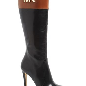 Women's MICHAEL Michael Kors 'Hayley' Leather Platform Boot