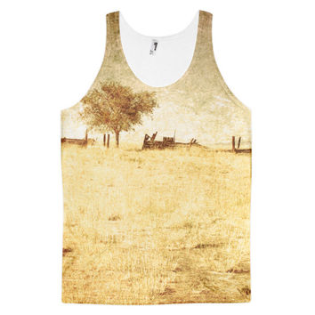 Alone classic fit unisex tank top