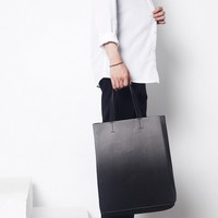 Ombre Leather Tote Bag