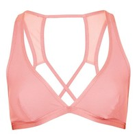 Jersey and Mesh Bralet