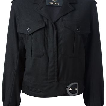 Versace Vintage fitted jacket
