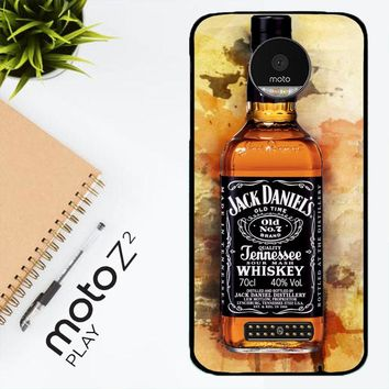 Jack Daniels Drinks W4917 Motorola Moto Z2 Play Case