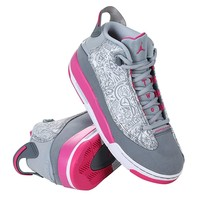 Jordan Girls Air Jordan Dub Zero GG Big Kid Trainer Fashion Sneakers