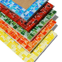 Mosaic Picture Frame, 8 x 10  - You choose the color
