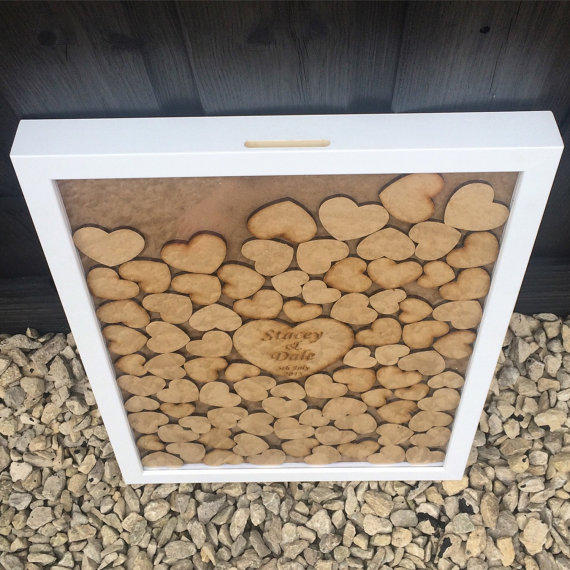 Drop Box Guest Book Frame Guestbook From Perfectparcels1 On