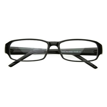 Slim Classic Square Clear Lens Fashion Eye Glasses Eyewear