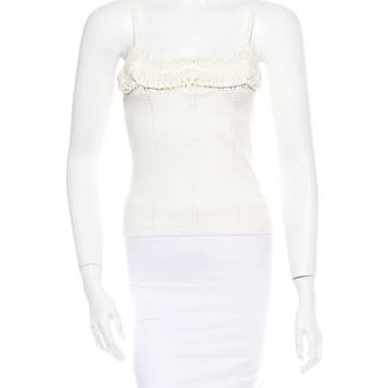 Christian Dior Embellished Tank Top