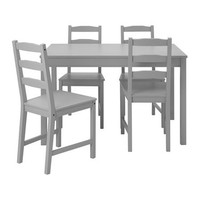 JOKKMOKK Table and 4 chairs Grey - IKEA