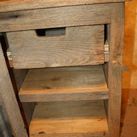 YOUR Custom Rustic Barn Wood End Table, Night Stand, or Side Table