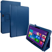 Navy Blue Folio Stand Case Cover for Microsoft Surface Pro 2