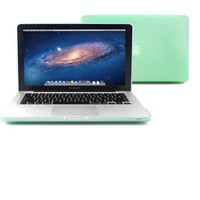 GMYLE Aqua Green Rubberized-see-through Hard Case Skin for 13