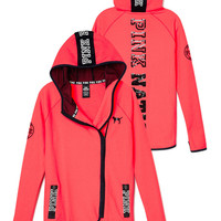 Limited Edition High/Low Bling Hoodie - PINK - Victoria's Secret