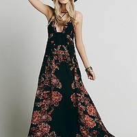 Free People Womens Cantik Maxi Dress