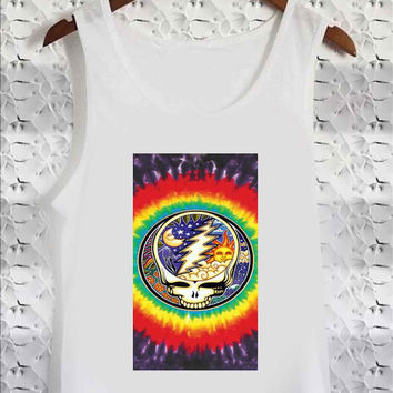 Grateful Dead Moon and Sun - Tank Top for man, woman S / M / L / XL / 2XL / 3XL *02*