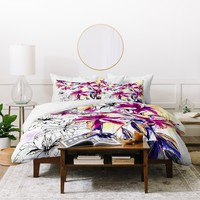 Holly Sharpe Rainbow Lily Duvet Cover