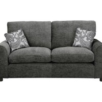 Buy HOME Tabitha 3 Seater Fabric Sofa - Charcoal at Argos.co.uk - Your Online Shop for Sofas, Living room furniture, Home and garden.