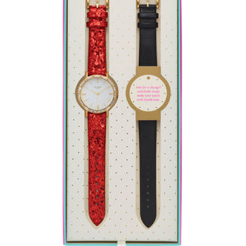 Kate Spade New York Metro Grand Watch with Interchangeable Strap
