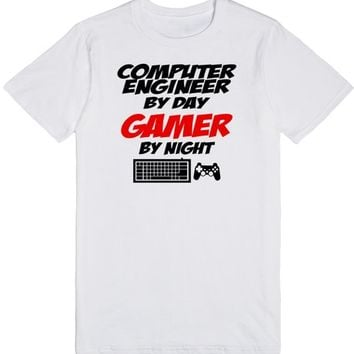computer engineer by day gamer by night