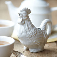 Rooster Pitcher | Serving | Stonewall Kitchen - Specialty Foods, Gifts, Gift Baskets, Kitchenware and Kitchen Accessories, Tableware, Home and Garden Décor and Accessories