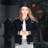Hot Deal On Sale Sports Jacket Winter Casual Baseball [8999109956]