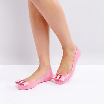 Vivienne Westwood for Melissa Space Love Flat Ballerina at asos.com