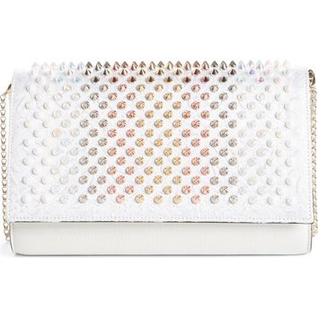 Christian Louboutin Paloma Spiked Clutch | Nordstrom