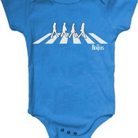 The Beatles Abbey Road Baby Infant Romper 6 months Fab Four