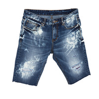 Crysp Denim Deja Shorts In Blue