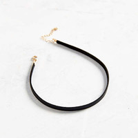 Allie Leather Choker Necklace | Urban Outfitters
