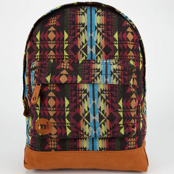 Mi-Pac Aztec Weave Backpack Black Combo One Size For Men 23932014901