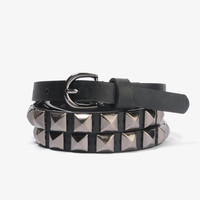 Matte Stud Hip Belt