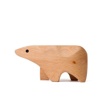 Animal Box Polar Bear by Alpine Modern