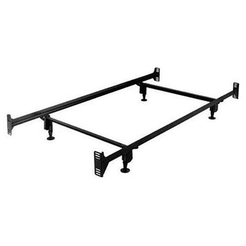 Twin Size Sturdy Metal Bed Frame with Headboard & Footboard Brackets