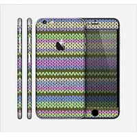 The Colorful Knit Pattern Skin for the Apple iPhone 6 Plus