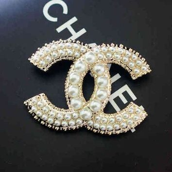 pearl brooch lux fashion channel products chanel c pusha gold
