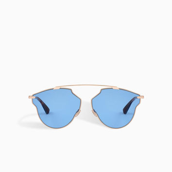 dior so real pop sunglasses, blue - Dior