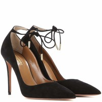 Allure 105 suede pumps