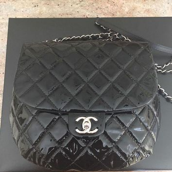 Chanel Flap Messenger Quilted Bag - Beauty Ticks