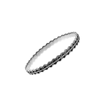 Elements Fire Sterling Silver Bangle