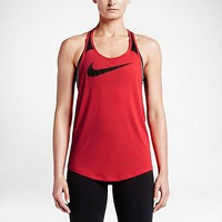 nike women s running tank tops back breathable mesh