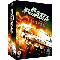Fast And Furious Box Set: 1 - 5 (5 Discs)